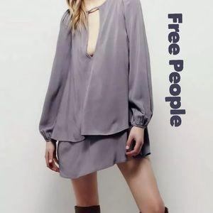 Free People Beck Mini Dress Made In Philadelphia